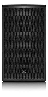 Turbosound speaker op statief